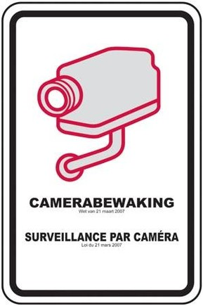 Pictogram kabelbewaking
