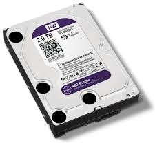 SATA HD 2 TB Western Digital Purple