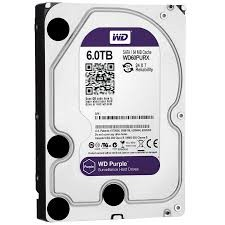 SATA HD 6 TB Western Digital Purple